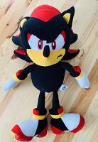 Rare Sonic X Shadow Soft Toy Plush Gosh International Collectable Black
