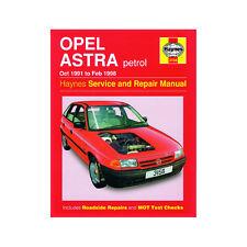 Opel Astra 1.4 1.6 1.8 2.0 Petrol 1991-98 Haynes Manual