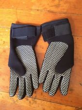 Nice Tilos Black Scuba Diving Snorkeling Gloves Size Large