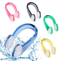 BY:1/5PCS Unisex HS Silicone Anti-Water Nose Clip Waterproof Swimming Kit Diving