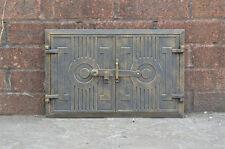 42 x 27 cm cast iron fire door clay / bread oven doors pizza stove fireplace