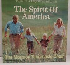 The Spirit of America The Mormon Tabernacle Choir 33RPM 060516 TLJ