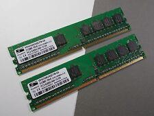1GB ProMos DDR2 RAM 2x 512MB  PC2-6400-666-12-D0  ACKTONN 566-2