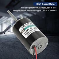 150W Hochleistungs Gleichstrommotor DC Elektromotor High-Speed (24V 5500rpm) ❤