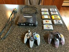 Nintendo N64 with games. Tested!
