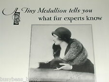 1930 Fromm Bros. Fur ad, silver fox furs, Hamburg WI
