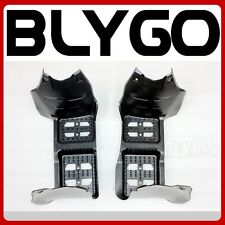 Pair Left+ Right Plastic Foot Rest Pegs Guard 110cc 125cc Quad Dirt Bike ATV