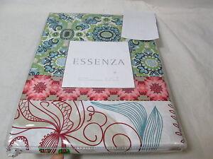"New Essenza KALUWA Euro European Pillow Sham 26""x26"" - Patchwork Flower NIP"