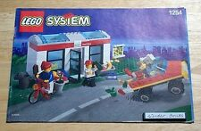 Lego 1254 VINTAGE INSTRUCTION BOOK: Shell Convenient Store * BOOK ONLY, NO LEGO