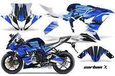 Street Bike Graphics Kit Decal Wrap For Kawasaki Ninja ZX6R 636 13-16 CARBONX U