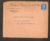 """AMBERIEU (01) """"BANQUE REGIONALE DE L'AIN / Anct. TENDRET , RIVE & Cie"""" en 1957"""
