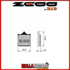 45B00301 PASTIGLIE FRENO ZCOO (B003 EX C) HUSQVARNA SM 610 IE 2009 (ANTERIORI)