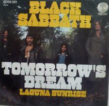 """7"""" 1972 ROCK GERMAN PRESS MINT- ! BLACK SABBATH : Tomorrow´s Dream"""