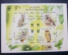 O) 2011 Middle East, Proof, Wwf - Native Owl - Long Asio Otus - Spotted Athene B