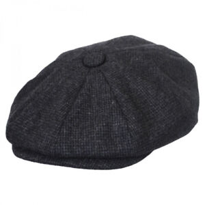 Jaxon Hats Union Wool Blend Newsboy Cap