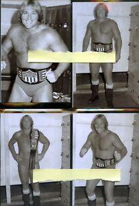 Steve Keirn    4x6 Wrestling Photo Lot of 4  SALE !!