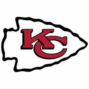 Kansas City Chiefs Iron On Transfer Light/Dark Fabrics