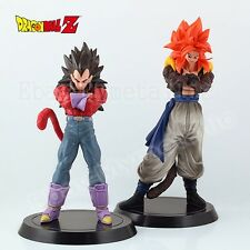 2pcs Set DragonBall Super Saiyan 4 Vegeta & Gogeta 18cm/21cm PVC Figure