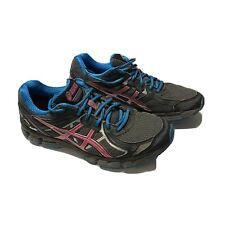 Asics Running Shoes Women Size 10 Gray Pink Blue GT2000 T3Q8N Goretex