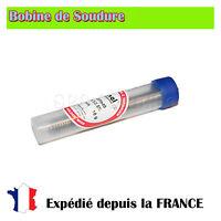 Bobine de soudure etain 1mm/Flux - Sn60Pb40