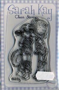 Sarah Kay - Clear Stamp - A Kiss for Chloe - SAKAMSK8B