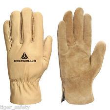 Delta Plus Venitex FIB49 Water Repellent High Quality Full Grain Leather Gloves
