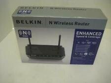 NEW Belkin F5D8233-4 300 Mbps 4-Port 10/100 Wireless N Router Access MIMO NIB