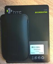 Original HTC Bolsa negro para HTC Desire Desire S Mozart PO S520 Volumen