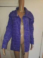calvin klein perfomance blue fleece women jacket sz 0X
