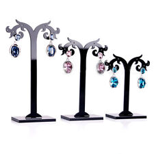 Acrylic 3 Pcs/Set Earrings Display Stand Jewelry Organizer Holder Removable