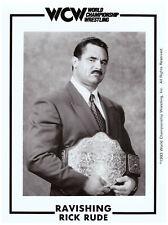 Original-Autogrammkarte OHNE Unterschrift Rick Rude Wresting WCW WWE NWA