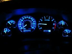 Ford Mustang 1994-1998 Blue LED Dash Instrument Cluster Conversion Kit
