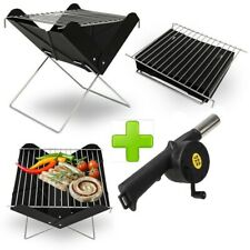 PORTABLE FOLDING BARBECUE GRILL OUTDOOR CAMPING PICNIC BBQ NEW IN BOX