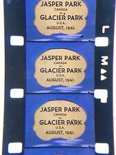 "16mm Silent Kodachrome Jasper Park to Glacier Park Amazing Home Movie 1941 1200"""