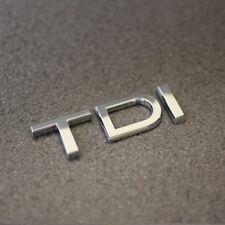 TDI Chrome Badge Emblème A1 A2 A3 A4 A5 A6 A7 A8 Q5 Q7 TT Audi 1.6 2.0 3.0 Ntdi