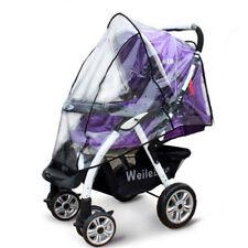 New Quality Universal Buggy Pushchair Stroller Pram Transparent Rain Cover Baby
