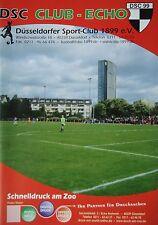 Programm 2012/13 Düsseldorfer SC 1899 Club Echo 1. Ausgabe