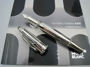MONTBLANC Airbus A380 Skeleton Limited Edition 380 Fountain Pens