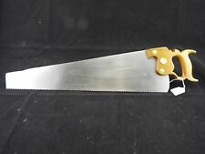 """Browns #3, 24"""" 9 PP Panel Saw Key Stone Saw Works, Disston, Sharpened, (inv1075)"""