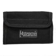 Maxpedition Spartan Wallet EDC Black Bartacked 1000 Denier Ballistic Nylon 0229B