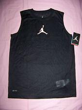 Jumpman Boys Sleeveless Michael Jordan Sheer Shirt Nwt Large
