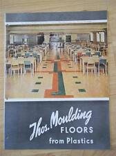 Thos. Moulding Catalog~Flooring/Floors~A sbestos~Moultile