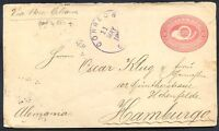 GUATEMALA TO GERMANY Old Postal Stationery (a stamps is missing) NICE!