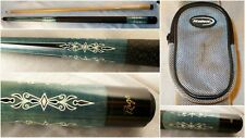 New listing Beautiful Rage 402 Pool Cue Stick 2 Piece Very Nice! A Halex Case Is Included