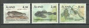 ALAND ANIMALS - Åland Islands Marine life set 1997 MNH