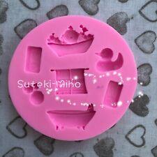 Nuevo bebé baño de silicona molde, moho, Pastel Glaseado