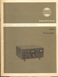 Collins Instruction Book 32S-3 Transmitter Manual Vintage Ham Radio (original)