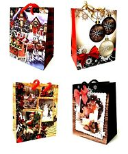 48 Geschenktüte Weihnachtstüten Geschenktüten MINI 14 x 11,5 x 6,5cm- BP2020