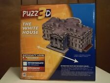 The White House 3D puzzle by PUZZ3D, MIB