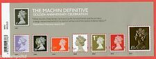 2017 Machin Definitive Golden Anniversary Celebration Minisheet - BARCODE Margin